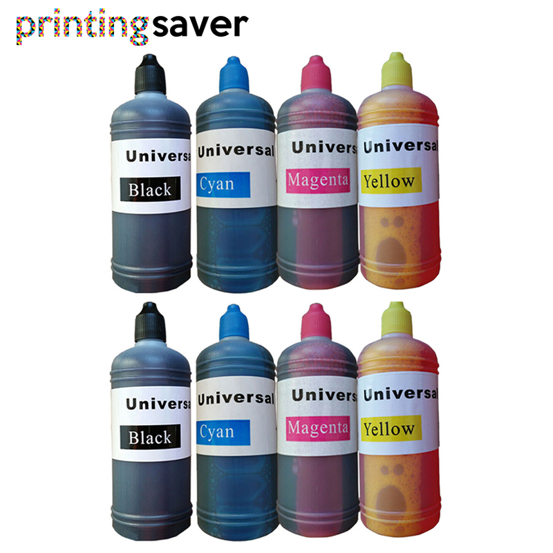 8x 100ml Refill Dye ink for <font><b>canon</b></font> <font><b>470</b></font> <font><b>471</b></font> PGI470 CLI471 ink cartridge ciss for <font><b>CANON</b></font> PIXMA MG6840 MG5740 TS5040 TS6040 printer image