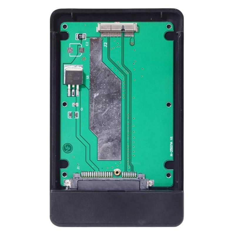 USB 3.0 To 2012 For Mac Book Pro Retina A1425 A1398 MC975 MC976 MD212 MD213 ME662 ME664 ME665 SSD 17+7Pin Case UC-169-BK