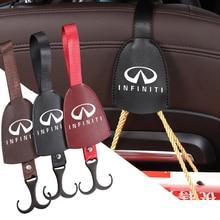 1 шт., крючок-вешалка для заднего сиденья автомобиля Infiniti Q50 Q50L Q60 Q70L QX30 QX50 QX60 QX70 QX80 ESQ FX35
