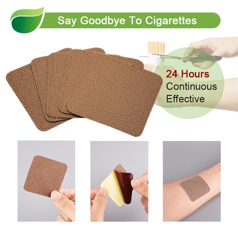 30pcs 100% Natural Ingredient Anti Smoke Patch Stop Quit Smoking Cessation Chinese Herbal Medical Plaster Health Care D2051 4