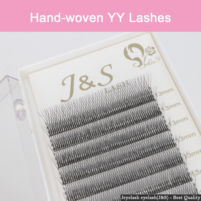 [Jeyelash eyelash] 5 Cases Premium YY Lashes False Mink  Y-shape Eyelashes  Extension 0.07mm Mesh Net Cross  Makeup Tool 4