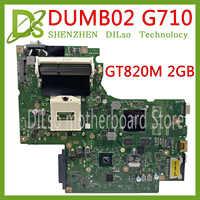 KEFU DUMB02 mainboard REV: 2.1 for Lenovo G710 notebook motherboard Graphics card chip GT820M 2G 100% test work