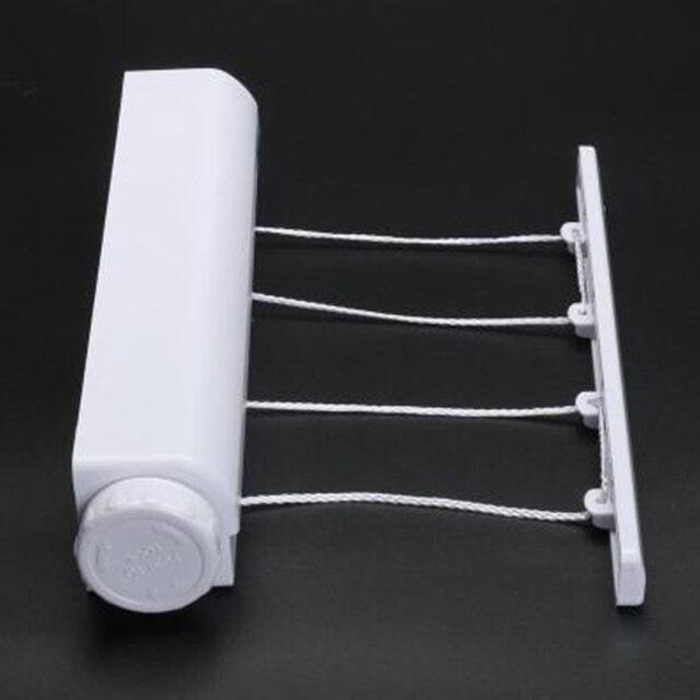 Cintre à linge rétractable à chaud ligne de vêtements murale étendoir à linge corde à linge NDS