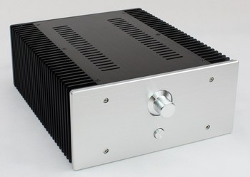 Amp Case Amplifier House Enclosure 312 * 262 * 120MM WA 75 All Aluminum Tube Amplifier Class A Amplifier DAC Chassis Diy Amp Box