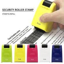 Schutz Ihre ID Erweiterte Rollen Identität Diebstahl Prävention Sicherheit Stempel Masking Tape