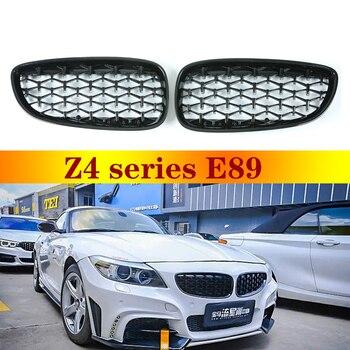 For BMW Z4 E89 Front Bumper Diamond Grille Car Decoration 2009-2016 цена 2017