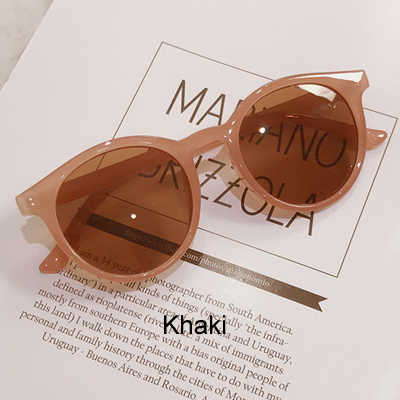 Женские круглые очки RBRARE, элегантные зеркальные ретро-очки в винтажном стиле, с зеркальными линзами