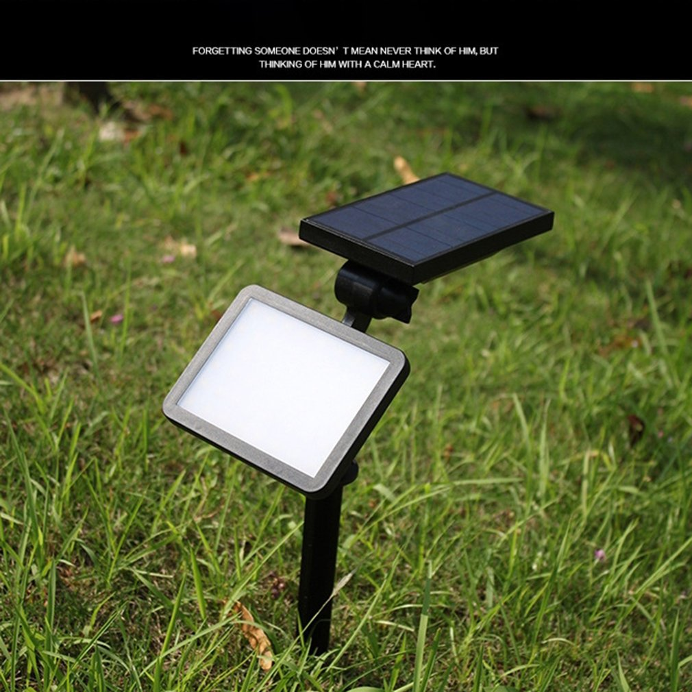 48 LED Solar Garden Lighting Outdoor Solar Powered Lamp Lantern Waterproof Led Landscape Path Yard Lawn Decoration