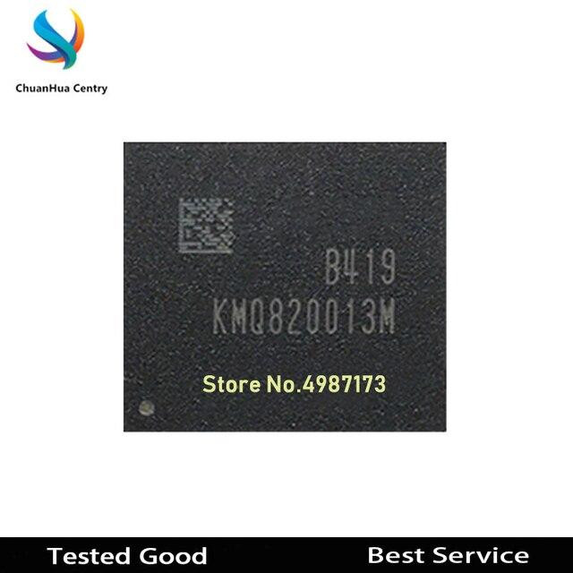 1 Uds. KMQ820013M B419 BGA de segunda mano probado bueno en Stock KMQ820013M B419