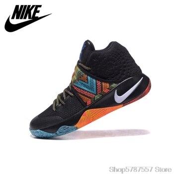 Orijinal Nike Kyrie 2 EP Düşük Erkekler Basketbol Ayakkabıları Nefes Rahat Ayakkabılar Boyutu 40-45