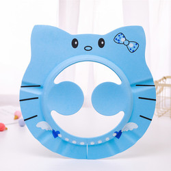 New EVA High Quality Baby Shower Cap Adjustable For 0-10 Years Old Kids Ear Protect Children Waterproof Cap Shower Hat