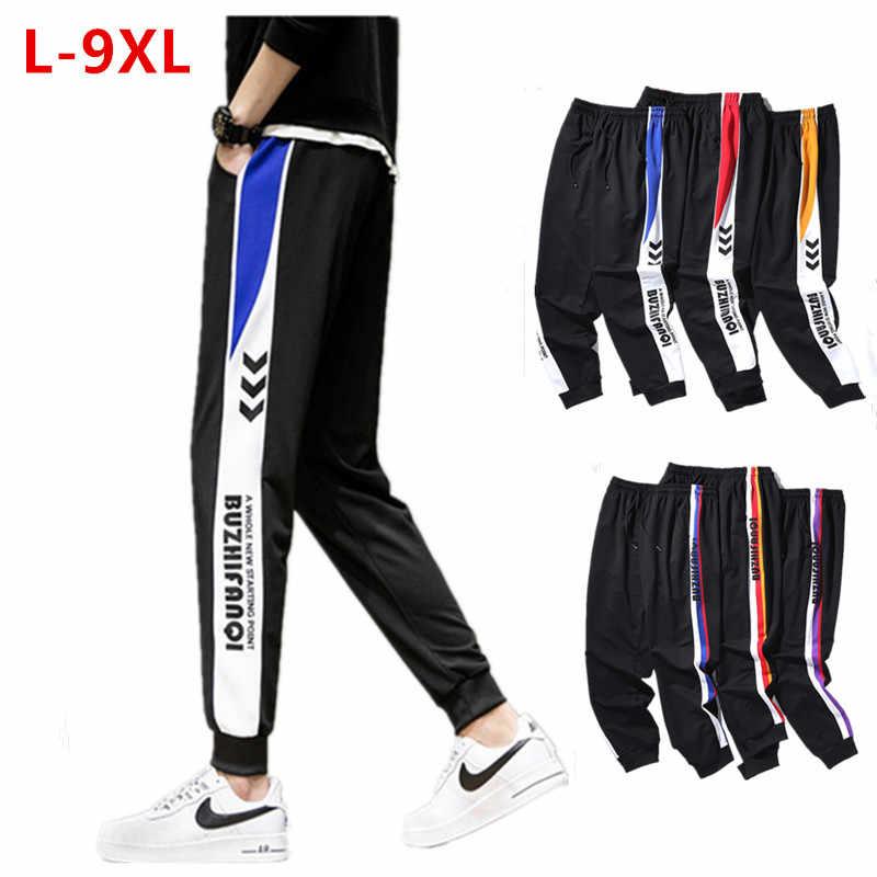 Mens Pants Trousers Sweatpants Plus Size 2XL~6XL Tracksuit Joggers 2019