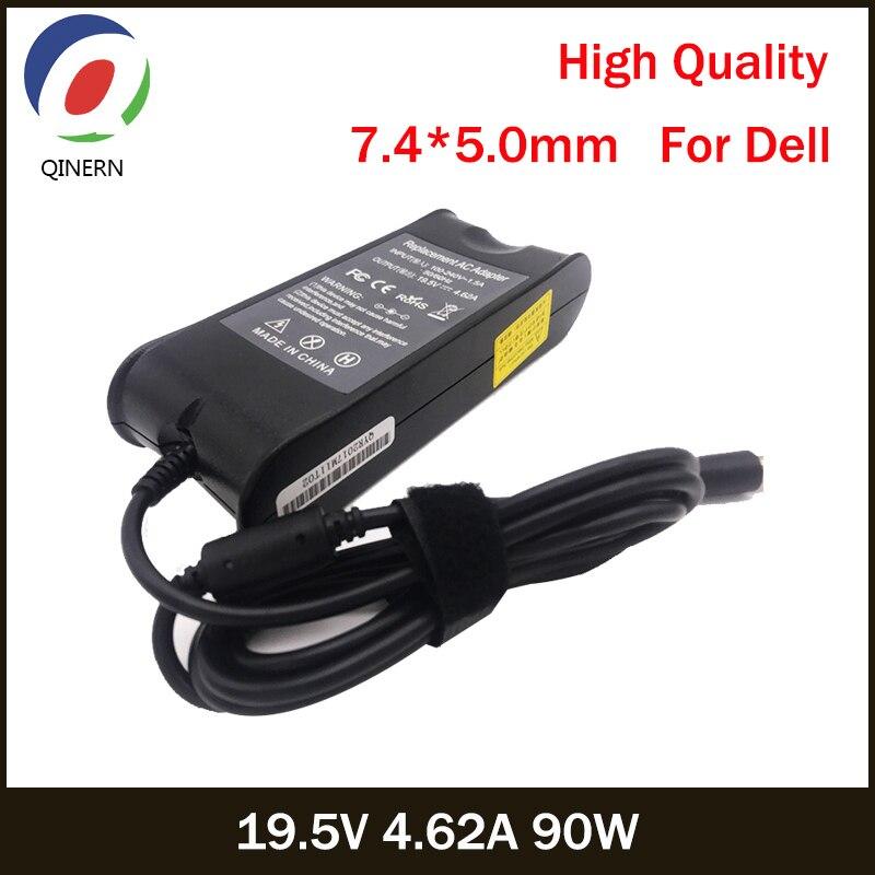 19.5V 4.62A 90W 7.4*5.0 milímetros AC Carregador Portátil Para Dell E4300 E4310 E5400 E5410 E5420 E5500 1420 1501 1521 1525 Adaptador de Energia D400