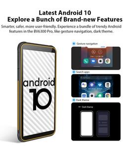Image 2 - BLACKVIEW BV6300 Pro IP68 Waterproof Rugged Phone Helio P70 6GB+128GB Smartphone 4380mAh Android 10.0 Mobile Phone 4 Rear Camera