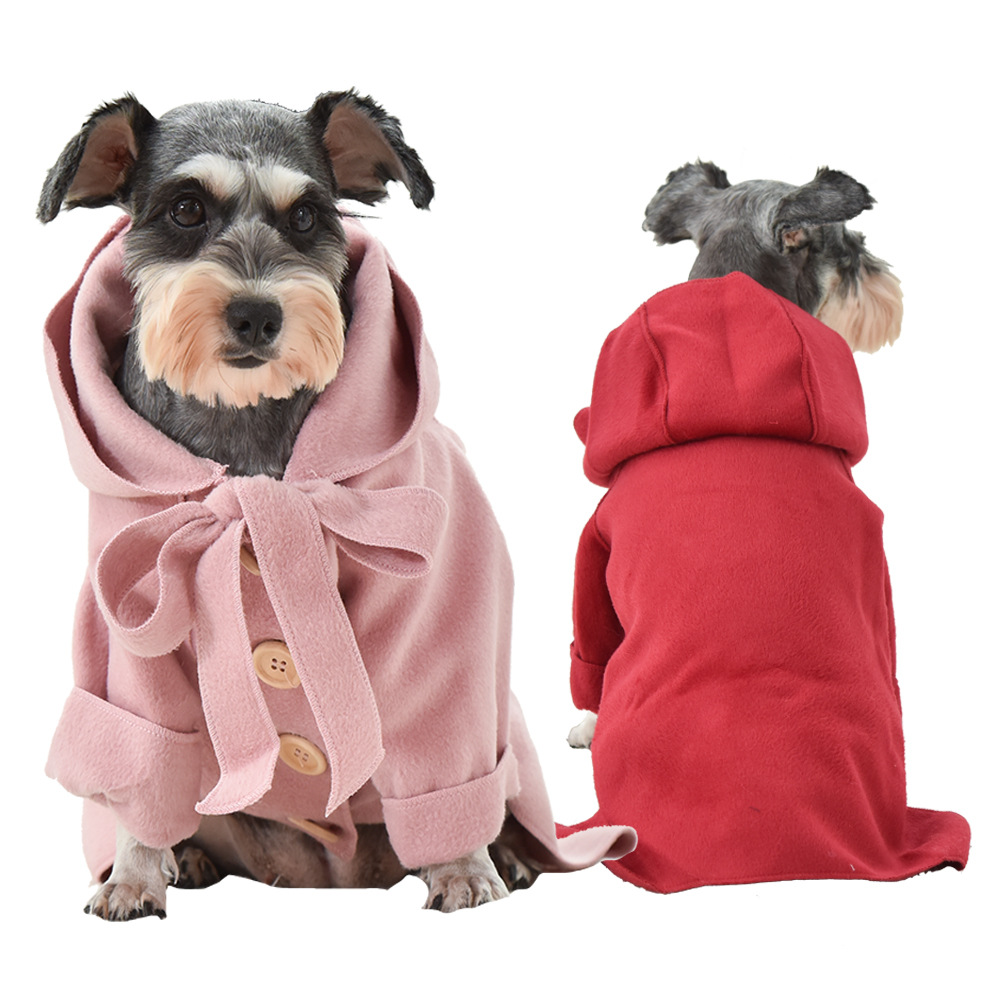<font><b>Pet</b></font> Clothes Autumn Winter <font><b>Dog</b></font> Coat 3 Color Woolen Jacket For Small Large <font><b>Dog</b></font> Yorkshire Schnauzer TDY382 <font><b>Dogs</b></font> <font><b>Pets</b></font> <font><b>Clothing</b></font> XXL-3 image