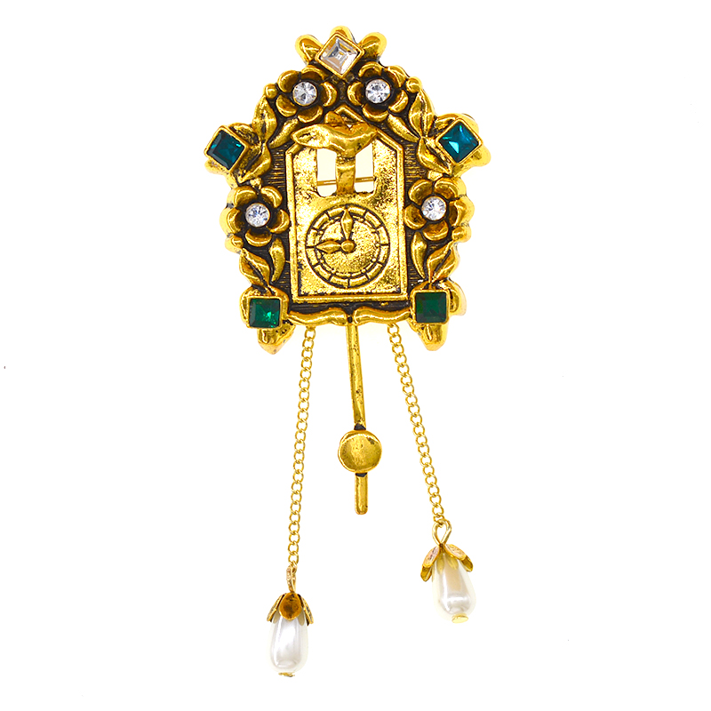Pin Brooch Dial Brooches
