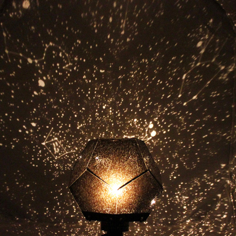 Star Sky LED Night Light Projector Lamp Kids Child Bedroom Projection Lamp Light For Home Decor