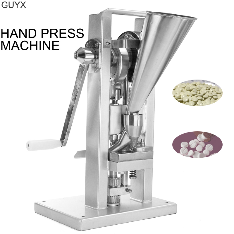 Manual Single Punching Machine Hand-cranking Table Machine Experimental Filming Machine Chinese Herbal Medicine Powder