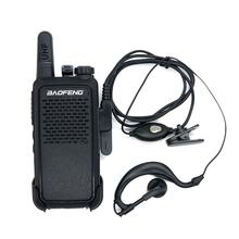 рация-Baofeng BF-666S Walkie Talkies16CH UHF 400-470MHz Two-Way Radio Transmitter Transceiver рации walkie-talkie радиостанция