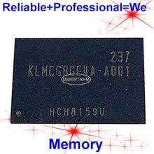 KLMCG8GE4A A001 BGA169Ball EMMC 64GB Mobilephone Memory New original and Second hand Soldered Balls Tested OK