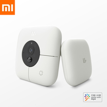 Xiaomi MIJIA Smart Visual Doorbell+Indoor Receiver Voice Fonts 1080p 120° Angle Infrared Night Vision Xiomi Work With MIJIA APP