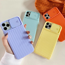 Camera Protection Silicone Phone Case For iPhone 12 11 Pro Max X XR XS Max 6 6s 7 8 Plus 12 Mini SE Vintage Shockproof Shell