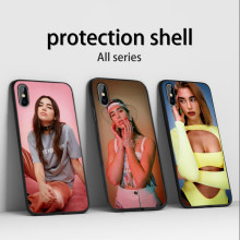 Dua Lipa Phone case For iPhone 11 Pro Max X XS XR 8 7 6 5 s Plus Silicone TPU fashion protection shell Back Cover capa(China)