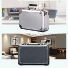 Aluminum alloy Storage Bag Suitcase For Nintend Switch Hard Shell Protective Case Travel Outdoor Carrying Box(China)