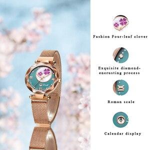 Image 4 - Crystal 2019 Fashion Women Watch Luxury Ladies Watches reloj mujer Female Quartz Wristwatch Full Rhinestone Waterproof Clock