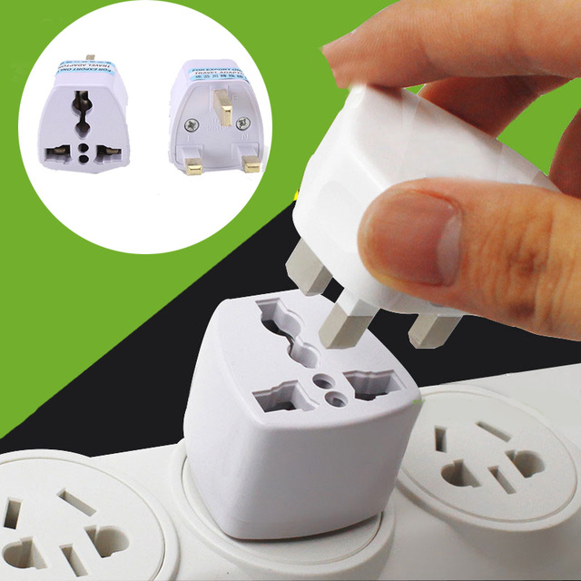 To Universal UK New Converter Gadget Consumer Electronics  UK Plug convert to Universal Plug