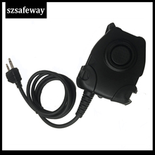 Impermeabile PTT Cavo Per Z Tactical Headset ComtacII H50 MSA H60 HD03 Per MIDLAND G6/G7/G8/G9 GXT550 GXT650 LXT8