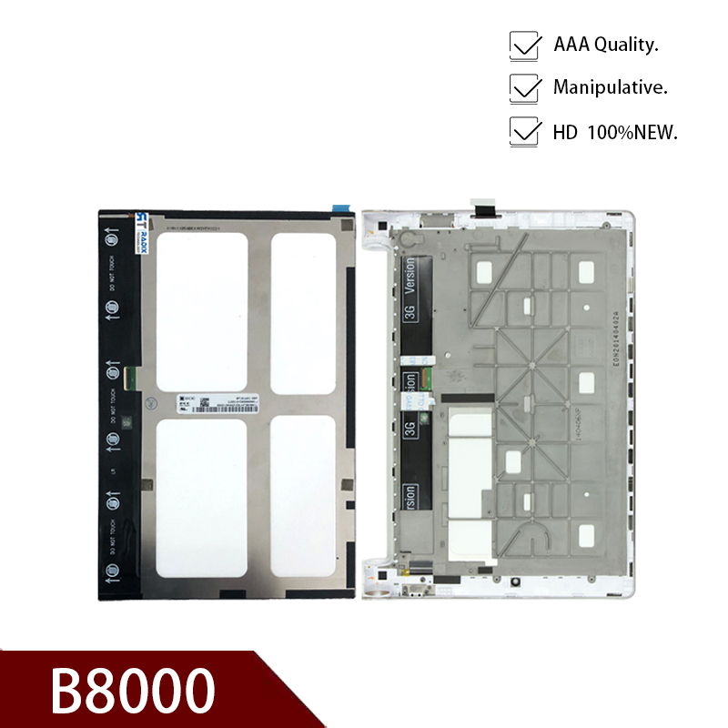 New Original 10.1 INCH For Lenovo Yoga 10 B8000 B8000-H Model 60047 60046 Tablet PC LCD Display and Touch Screen Digitizer