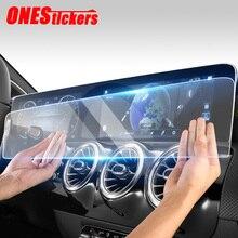 메르세데스 벤츠 CLA B 클래스 C118 W247 CLA180/200/220/250 2020 + 10.25 인치 자동차 네비게이션 화면 강화 유리 보호 필름