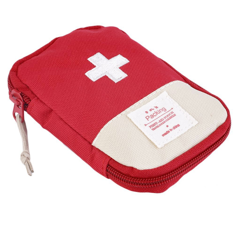 First Aid Kit Medical Bag Durable Outdoor Camping Survival Portable Convenient Bag For Easy-carrying 3 Colors Optional.