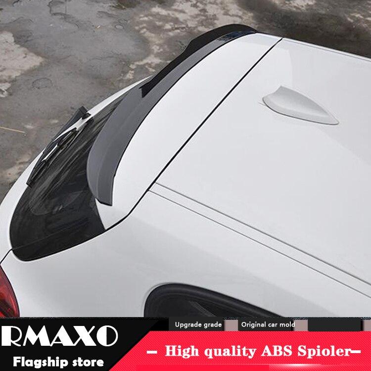 Для BMW F20 F21 спойлер 2015-2018 BMW 1 серия 116i 120i 118i M135i x ABS Материал заднее крыло автомобиля праймер цвет задний спойлер