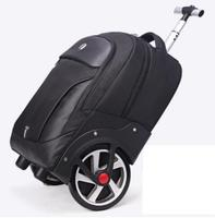 Men Travel trolley bag Rolling Luggage backpack bags on wheels wheeled backpack for Business Cabin carry on Travel trolley bag