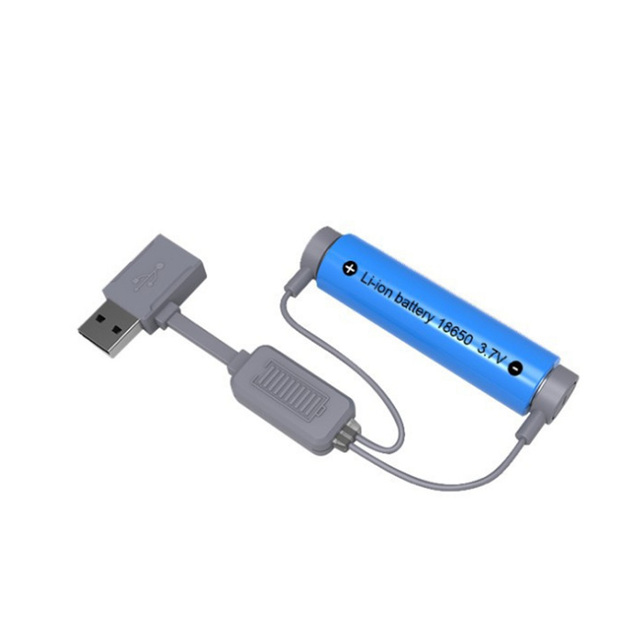18650 Battery Charger for Li ion Batteries Multifunction Magnetic USB Charger Mini Charging/Discharging Power Bank No battery