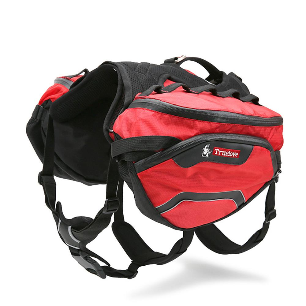 Pet Backpack Carrier Harness and Bag Space Waterproof Detachable Large Two Used for Outdoor Walking Hiking