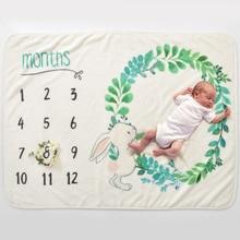 Детское одеяло подгузники из муслина, мягкое постельное белье с мультяшным принтом, детское Пеленальное Одеяло для новорожденных, Фланелевое хлопковое детское одеяло для кровати s