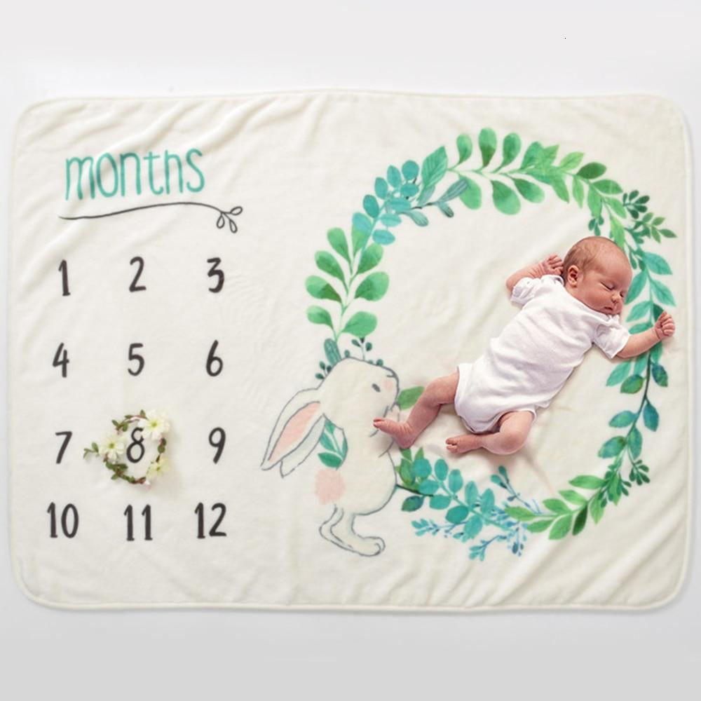 Baby Blanket Muslin Diapers Soft Print Cartoon Bedding Children Swaddle Newborns Wrap Flannel Cotton Children's Bed Blankets