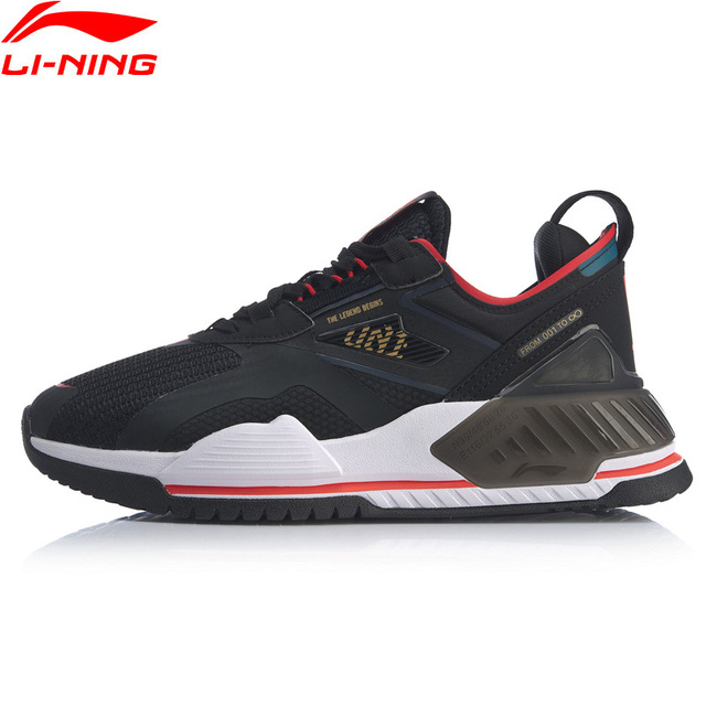 Li-Ning Men 001 T2000 The Trend Stylish Shoes TPU Support Anti-Slippery LiNing li ning Retro Sport Shoes Sneakers AGLQ019 YXB345 1