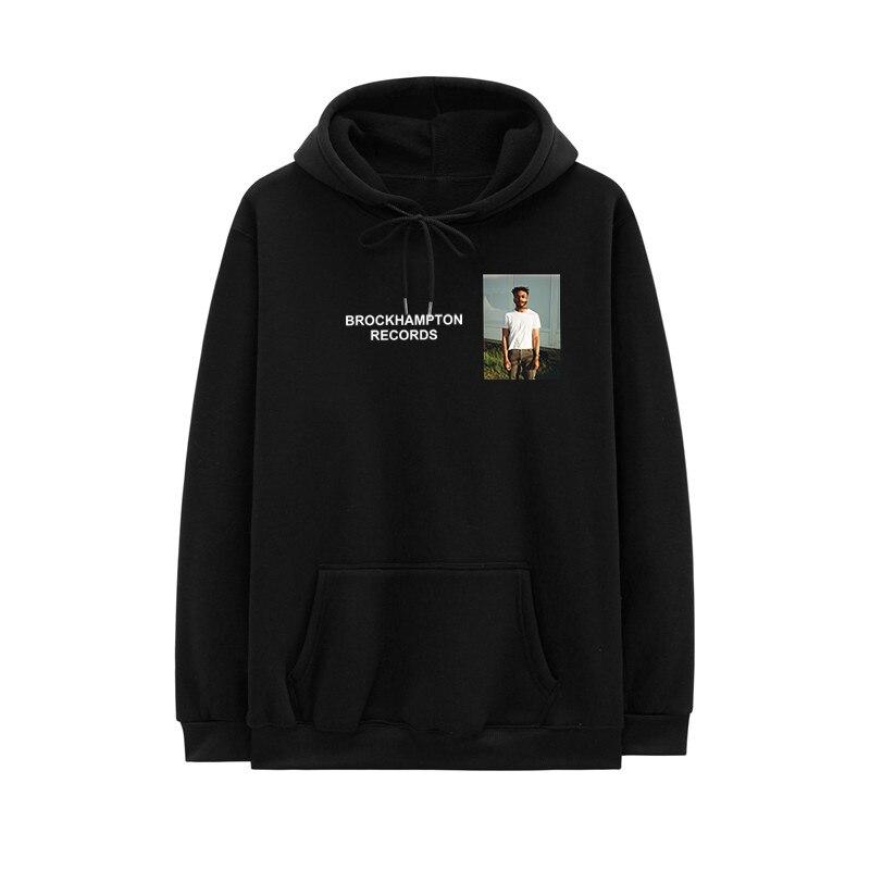 2020 Fashion Hoodie Men Women Brockhampton RECORDS Funny Hoody GINGER Take The Odds I'LL Keep Dreaming Hip-Hop Hooded Sweatshirt
