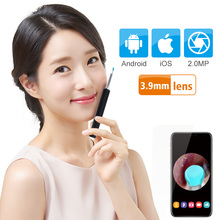 Wifi Ear Scope Camera New Upgraded 3.9mm Visual Ear Camera HD Ear Endoscope Earwax Cleaning Tool With 6 LED for Android IOS