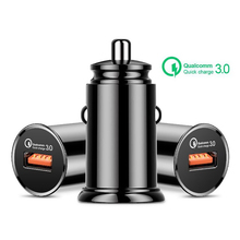 Car Charger Quick Charge 3.0 QC 3.0 Fast Charging Adapter USB Car-Charger For iphone Micro USB Type C Cable Mobile Phone Charger quick charge 3 0 usb charger travel for iphone samsung micro usb type c fast charging 3 ports eu us plug mobile phone charge