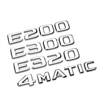 Car rear tail Emblem Number letters badge sticker For Mercedes Benz GLA/E/C Class C180 C200 C260 E43 E260 E300 E320 E400 abs plastic car trunk rear letters badge emblem decal sticker for mercedes benz grand edition