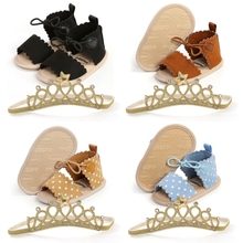 Fashion Sandals Baby-Girls First-Walkers Princess Shoes Soft-Sole Summer Non-Slip 2pcs
