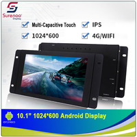 10.1 1024X600 Android Industrial Grade IPS TFT LCD Module Display Screen with w/ Multi Capacitive Touch Panel & Enclosure