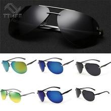TTLIFE Men's Sunglasses Brand Designer Pilot Polarized Male Sun Glasses Driving Eyeglasses For Men Gafas Oculos De Sol YJHH0161 цена в Москве и Питере