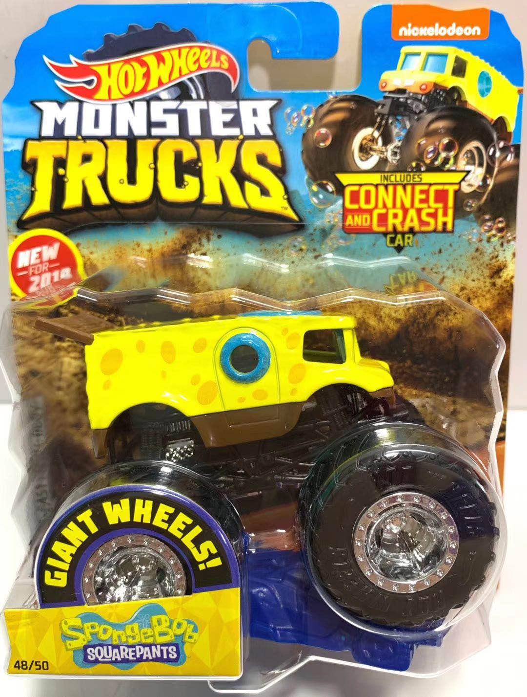 Car-Toy Wheels Metal-Model Monster Barbarism Giant Crazy Children Birthday-Gift Big 1:64