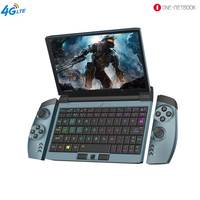 One Gx 4G LTE OneNetbook OneGx1 Gaming Laptop 12000mAH Laptop 7'' Win10 i5 10210Y 8GB/16GB DDR3 256GB/512GB SSD WiFi Type C